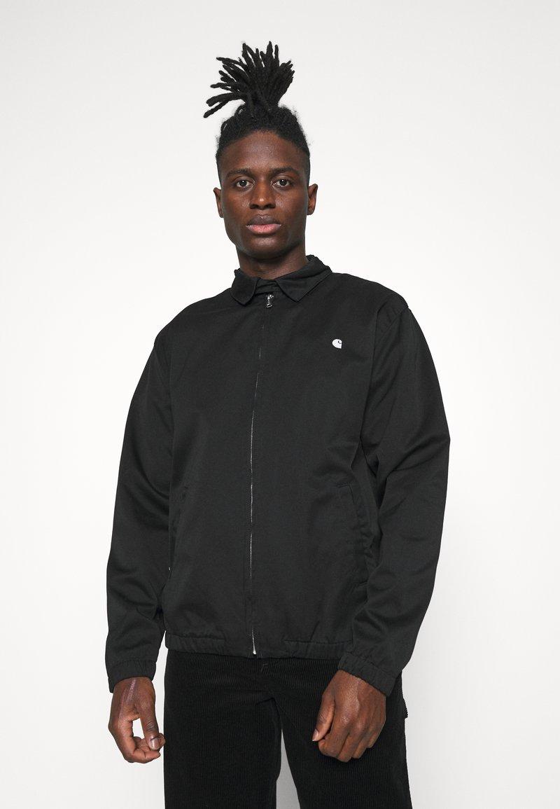 Carhartt WIP - MADISON JACKET  - Summer jacket - black
