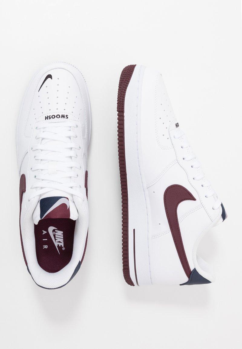 Alabama scanalatura delicatezza  Nike Sportswear AIR FORCE 1 07 LV8 - Sneakers basse - white/night  maroon/obsidian/bianco - Zalando.it