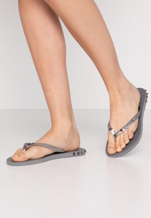SLIM ROCKY - Pool shoes - steel grey