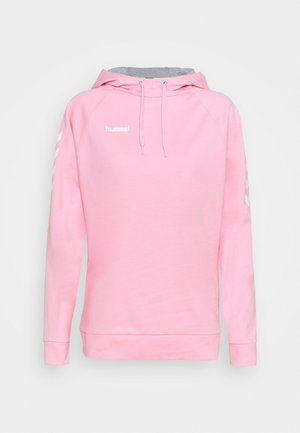 GO HOODIE WOMAN - Huppari - cotton candy