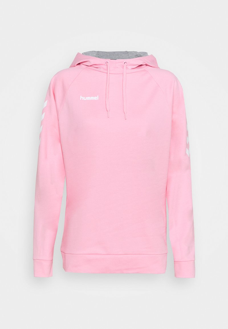 Hummel - GO HOODIE WOMAN - Jersey con capucha - cotton candy