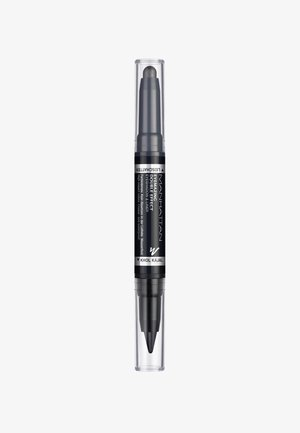 EYEMAZING DOUBLE EFFECT EYESHADOW & LINER - Øjenskygger - 001 In the black