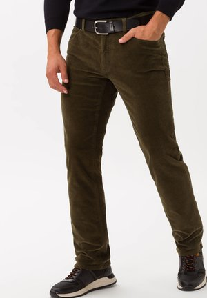 STYLE COOPER  - Trousers - hunter