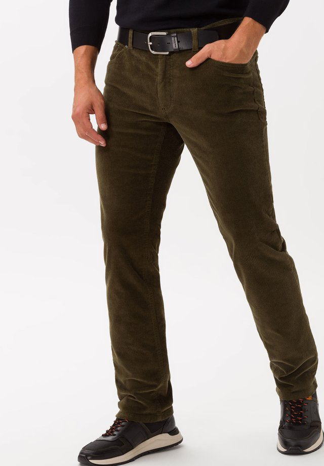 STYLE COOPER FANCY - Trousers - hunter