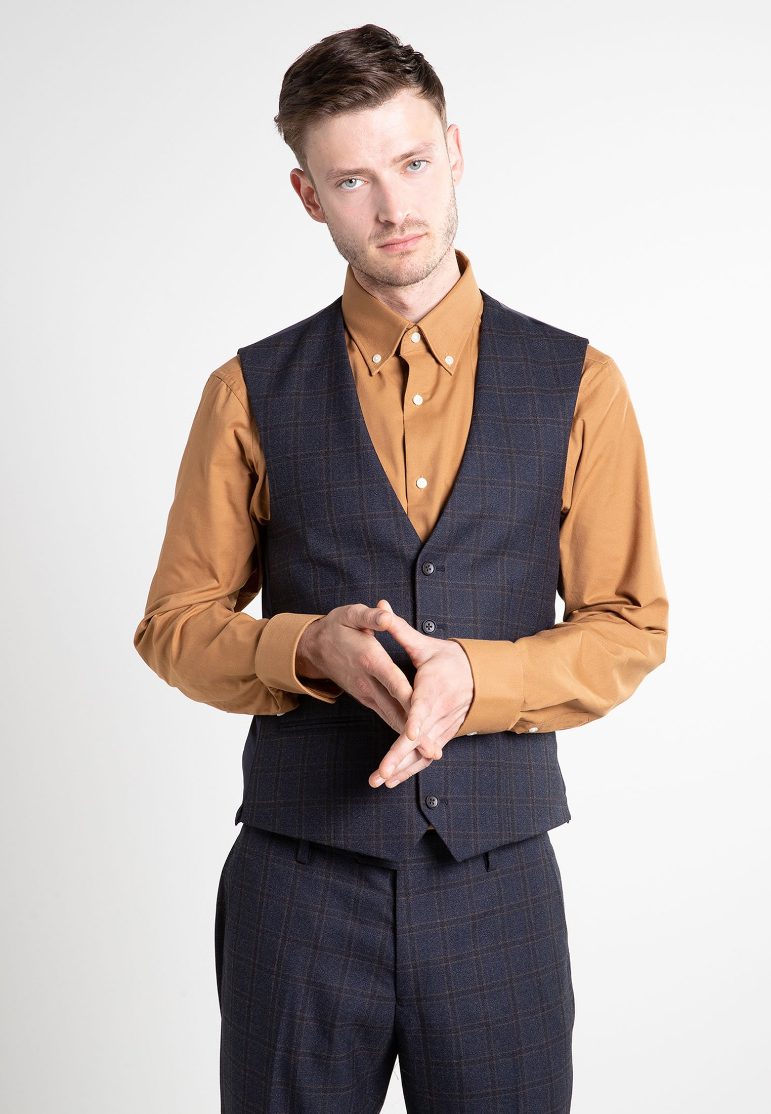 Homme Gilet de costume