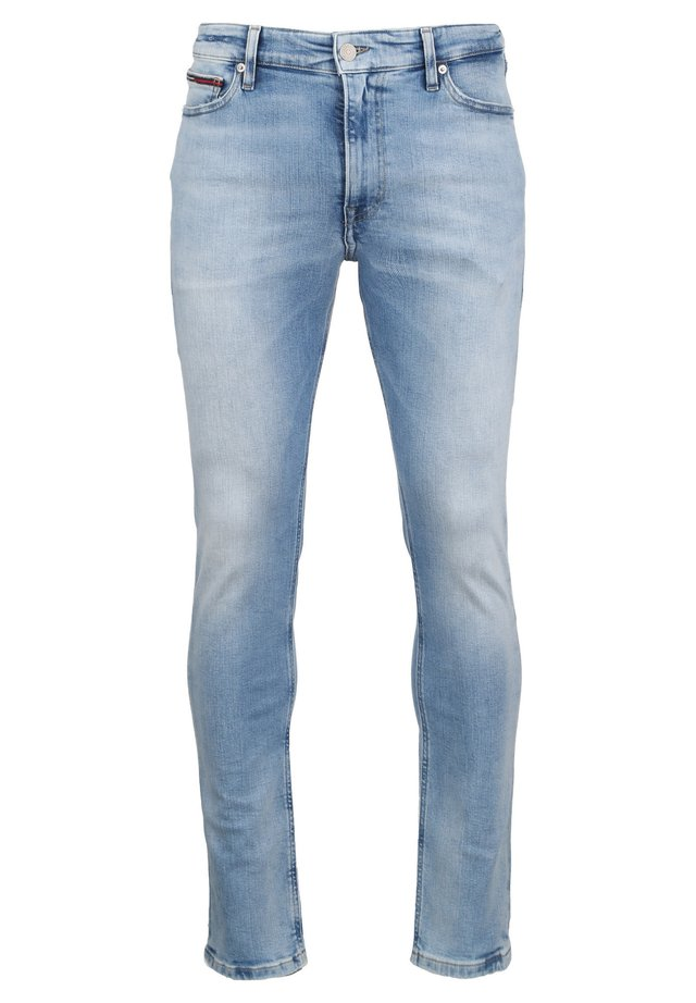 Slim fit -farkut - light-blue denim