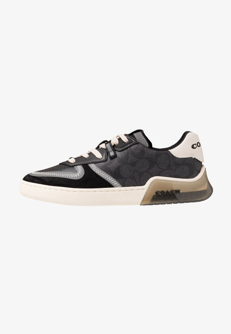 Coach - SIGNATURE TECH COURT - Sneakersy niskie - charcoal/black