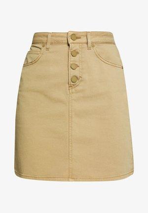 Mini skirt - bleached olive