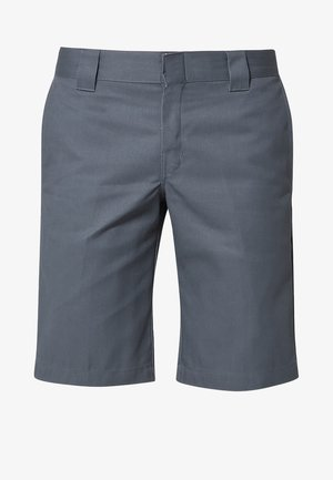 SLIM STRAIGHT WORK - Shorts - charcoal grey