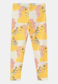Mini Rodini - UNICORN NOODLES UNISEX - Leggings - Trousers - yellow - 1