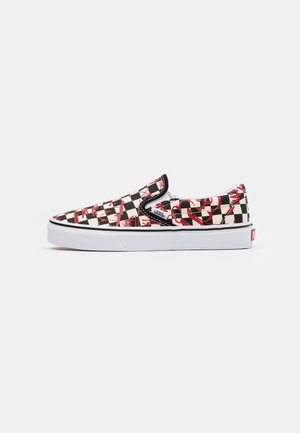 CLASSIC UNISEX - Slip-ons - checkerboard/red
