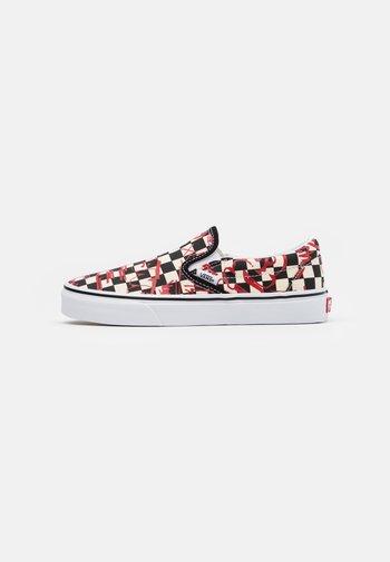 CLASSIC UNISEX - Slip-ins - checkerboard/red