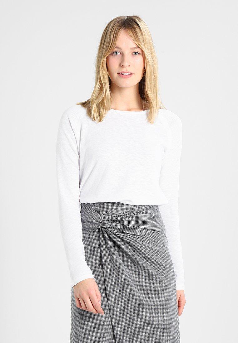 Rich & Royal - HEAVY LONGSLEEVE - Long sleeved top - white