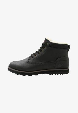 MISSION V - Winter boots - solid black