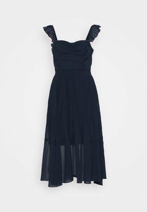 PLEATED FLOUNCE DRESS - Cocktailkleid/festliches Kleid - blueberry