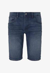 TOM TAILOR DENIM - Denim shorts - blue denim - 6