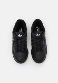 adidas Originals - CONTINENTAL 80 STRIPES UNISEX - Tenisky - core black/collegiate navy/vivd red - 3