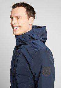 TOM TAILOR - BLOUSON WITH ZIPPERS - Light jacket - sky captain blue - 3