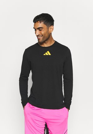 FUTURE GRAPHICS - Long sleeved top - black