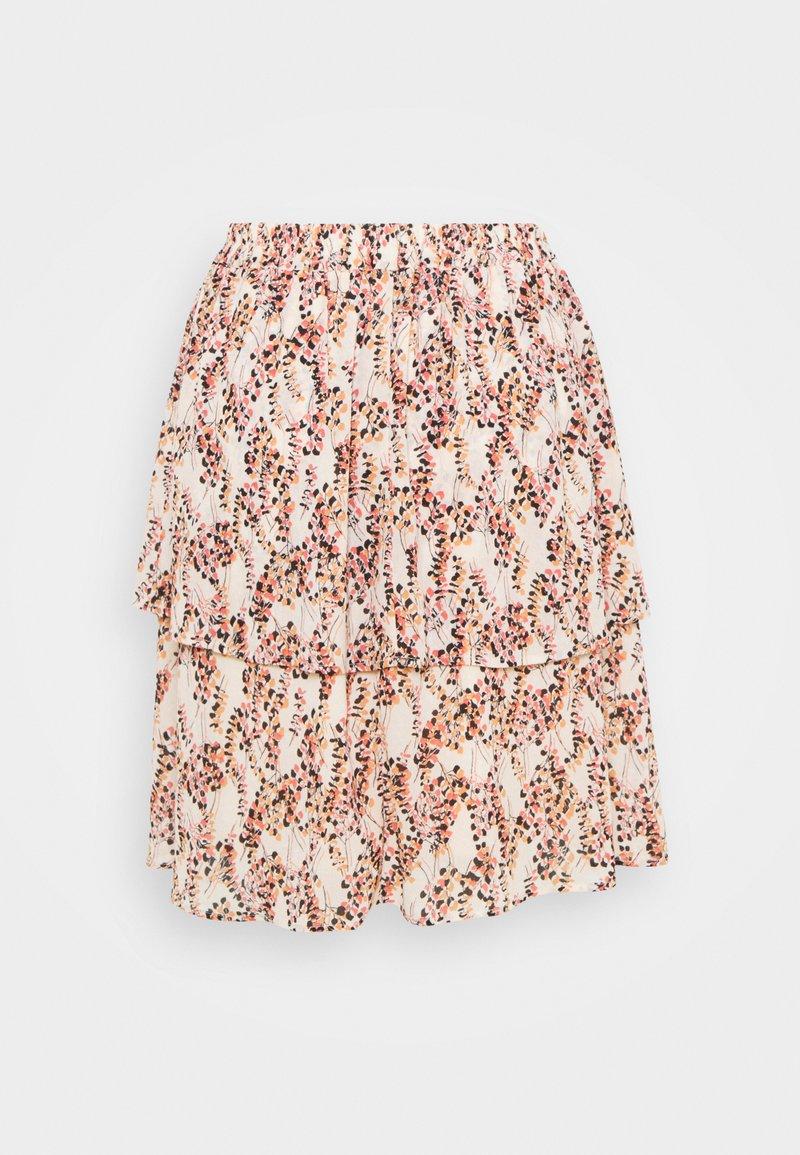 Moss Copenhagen - CAMLY RIKKELIE SKIRT  - A-line skirt - bellini