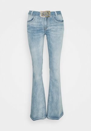 FELIZ 2 FLARE COMFORT - Flared Jeans - blue denim