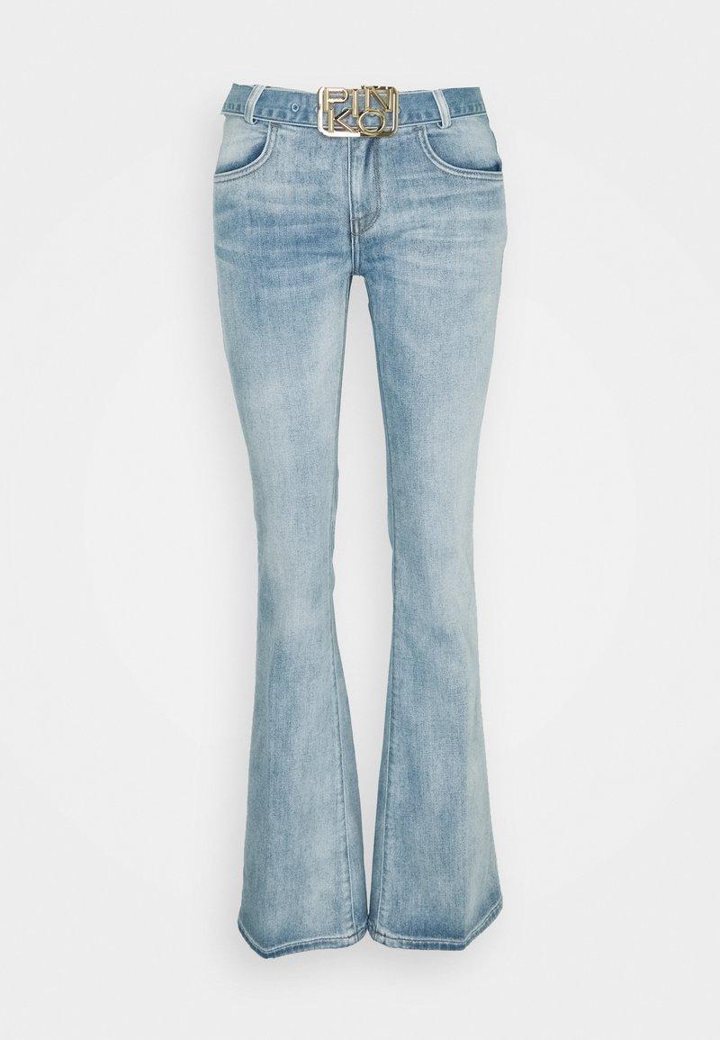 Pinko - FELIZ 2 FLARE COMFORT - Flared Jeans - blue denim