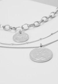 Pieces - PCDIANE COMBI NECKLACE - Necklace - silver-coloured - 4