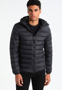 Pier One - Down jacket - black - 0
