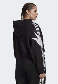 adidas Originals - FAKTEN HOODIE - Hoodie - black - 1
