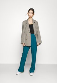 4th & Reckless - TROUSER - Trousers - teal - 1