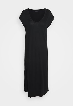 MAXI COLUMN DRESS - Negligé - black