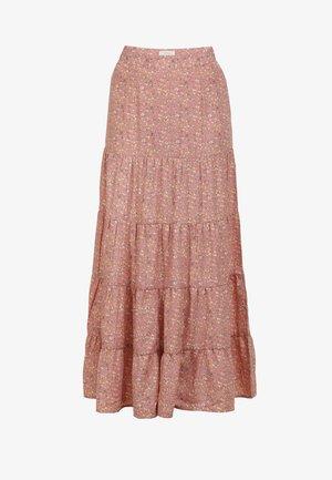 Maxi skirt - flower print