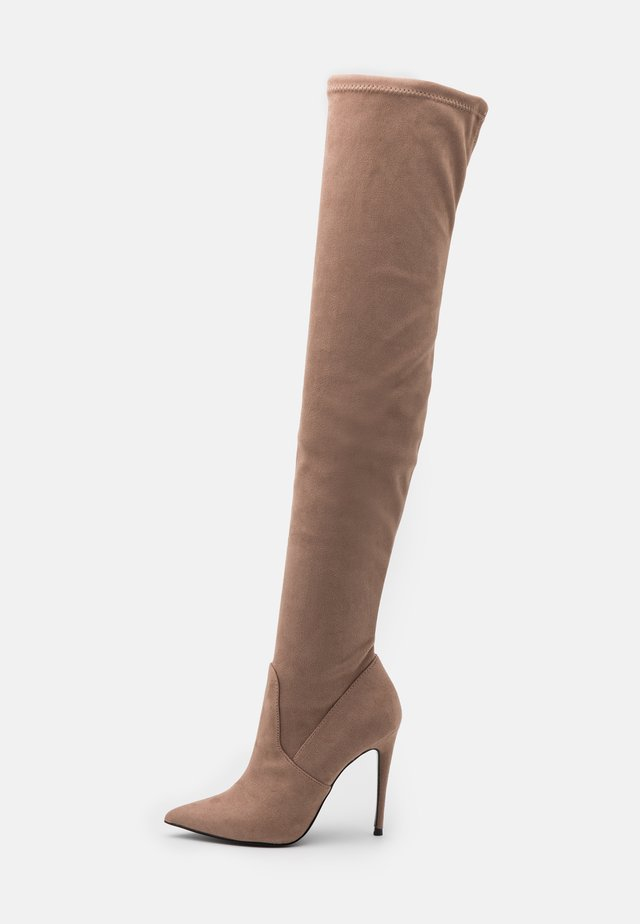 DADE - High Heel Stiefel - taupe