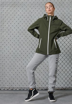 HYDROTECH HARPA - Waterproof jacket - army khaki