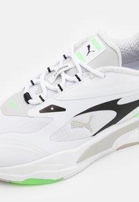 Puma - RS-FAST TECH UNISEX - Sneakers laag - white/gray violet/elektro green - 5