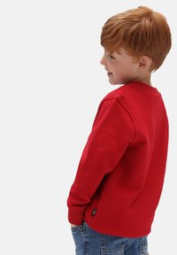 Vans - BY VANS CLASSIC CREW KIDS - Maglione - chili pepper - 1