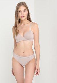 Calvin Klein Underwear - LIGHTLY LINED DEMI - Reggiseno - grey - 1