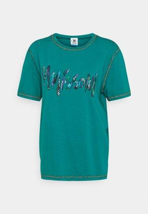 SHORT SLEEVE - Print T-shirt - harbor blue