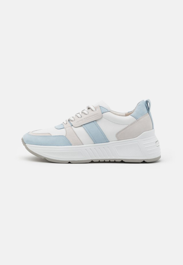 MATRIX - Sneakers laag - bianco/blu