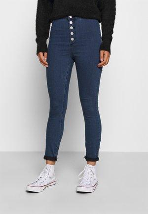 VMJOY  - Jeans Skinny Fit - medium blue denim