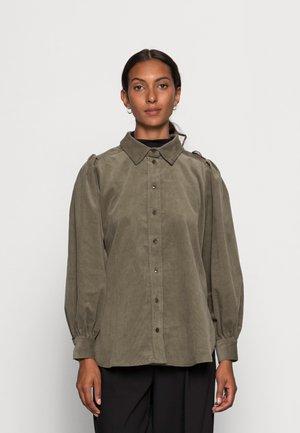 KESA - Button-down blouse - kalamata