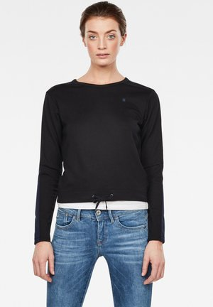 NOSTELLE CROPPED - Jumper - black/blue