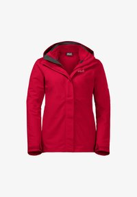 Jack Wolfskin - Hardshell jacket - clear red - 0