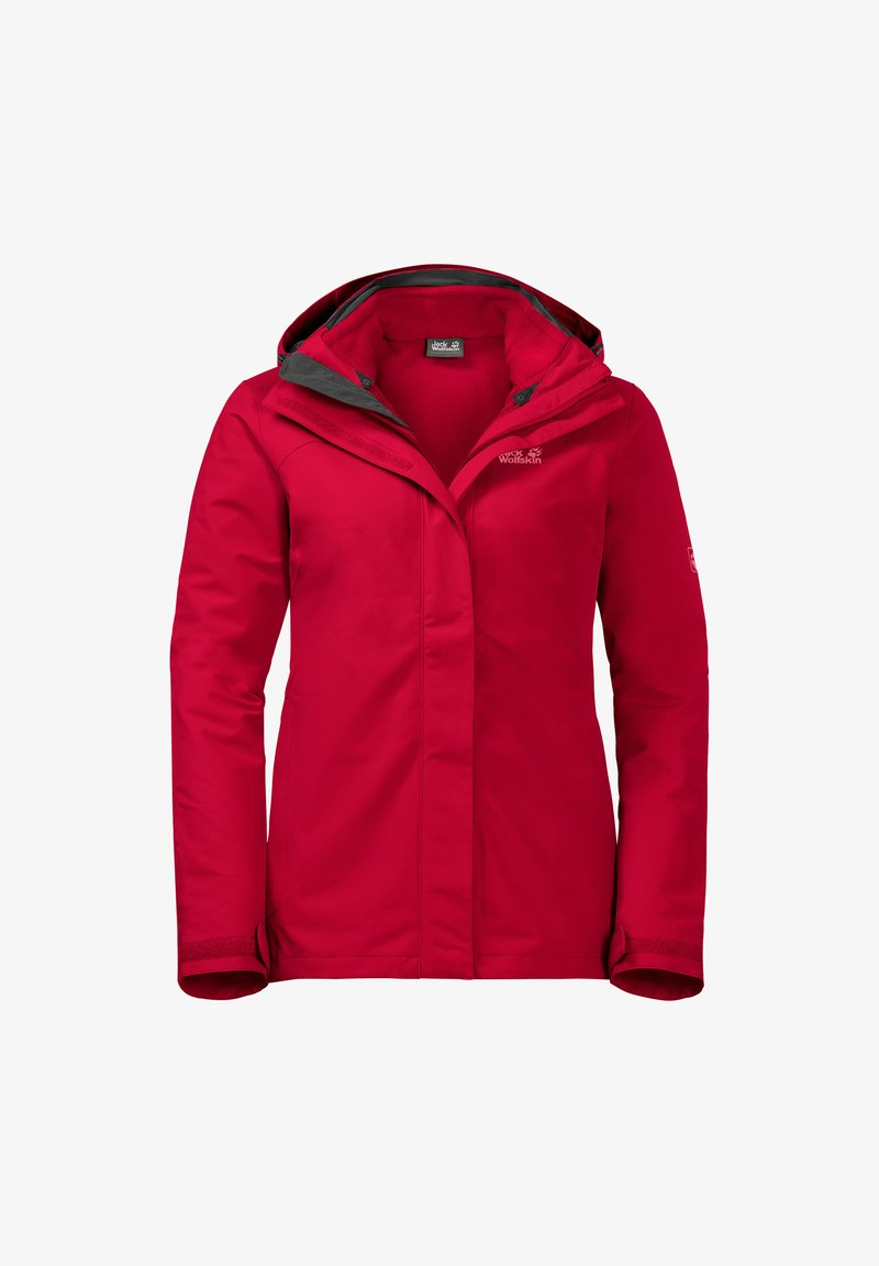 Jack Wolfskin - Hardshell jacket - clear red