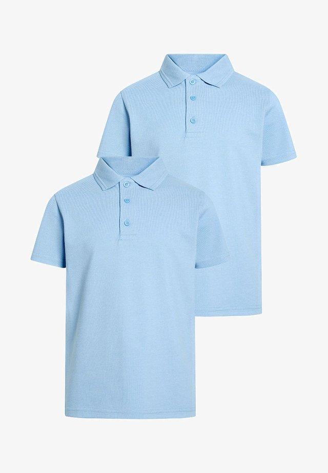 2 PACK - Poloshirts - blue