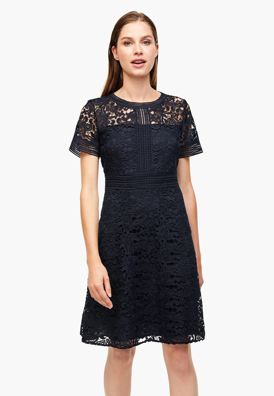 s.Oliver BLACK LABEL Cocktailkleid/festliches Kleid   navy ...