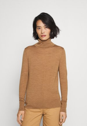 Strickpullover - camel heather