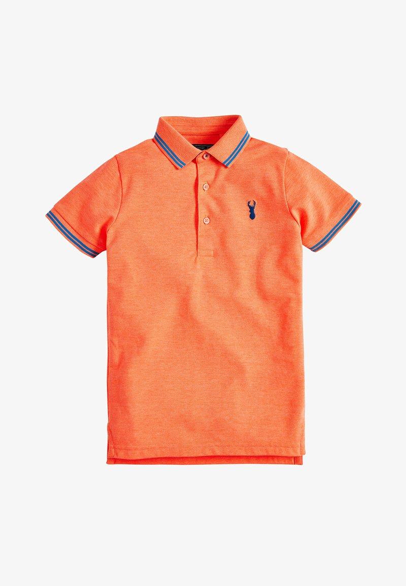 Next - FLURO  - Polo - orange