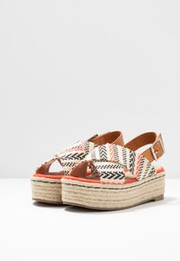 mtng - NEW TESSY - Espadrilky - coral - 4