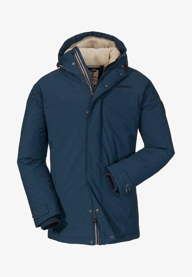 Outdoor jacket - rauchblau